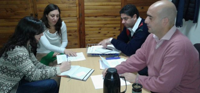 Reunión con personal de la Oficina de Rescate